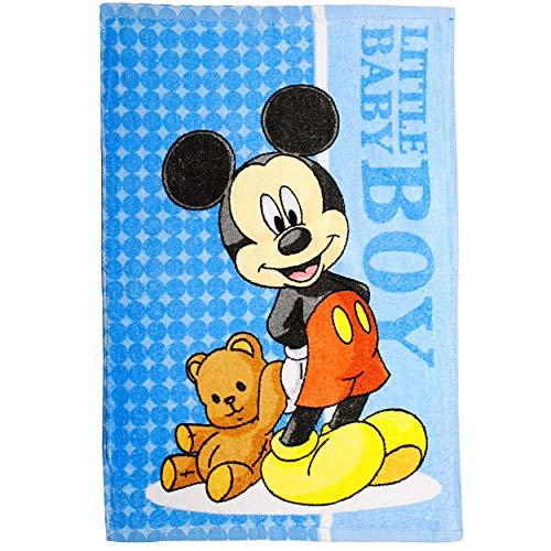 alles-meine.de GmbH 2 Stück _ kleine Kinderhandtücher / Handtücher /Gästetücher - Disney - Mickey Mouse - Baumwolle 100 % - 40 cm * 60 cm - Frottee / Velours - kleines Gästehandt..