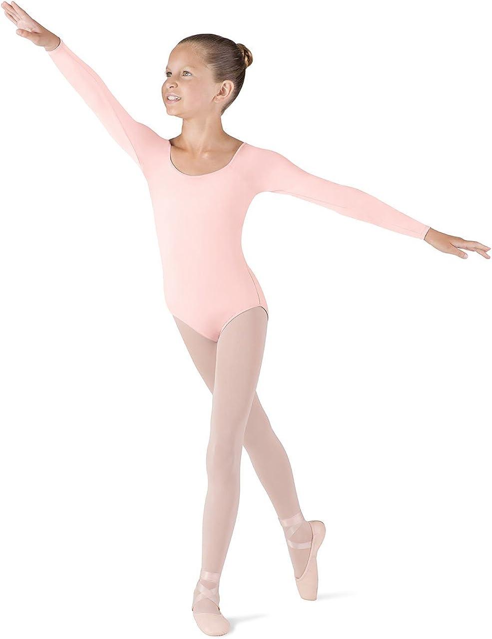 Bloch Girls Dance Meglio Microlux Long Sleeve Leotard