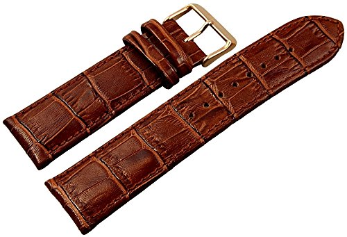 Engelhardt Leder Uhrenarmband Uhrenband Uhrband Ersatzband Armband braun 865170700324 Stegbreite 24 mm