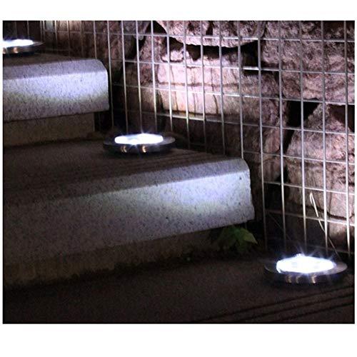 W.Z.H.H.H Luces solares Luz Solar de la lámpara Jardín Planta de energía Solar Buried Luz Impermeable al Aire Libre del Paisaje del jardín Camino Plataforma Yard luz del césped Luces al Aire Libre