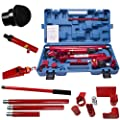 10 Ton Porta Power Hydraulic Jack Repair Kit Auto Shop Air Pump Lift Ram Body Frame Tool Heavy Set