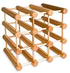 wine related gifts: wine rack