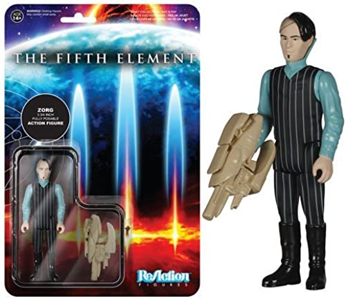 Fifth Element Zorg ReAction 3 3 4-Inch Retro Action Figure by Funko