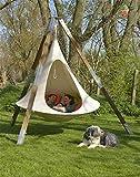 LIUTAO Enfants Adultes Camping Tipi Arbre Silkworm Cocoon Balançoire Chaise Suspendue Intérieur Tente Hamac Patio Meubles Canapé-Lit