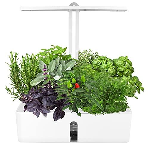 KKTECT Idroponica Kit Giardino Sistemi da Giardino Intelligente Sistemi da Giardino Intelligente/Pompa di Circolazione/Timer Automatico per Casa e Cucina, Altezza Regolabile