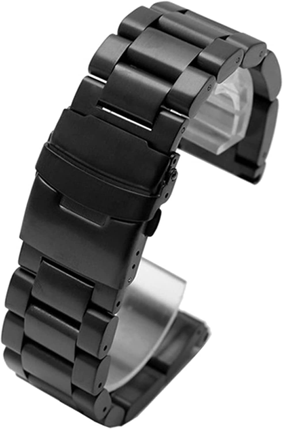 ZJSXIA Watch Strap gift Solid Stainless 22mm 24mm Max 71% OFF Steel 26mm Q