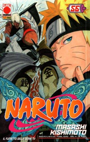 Naruto il Mito 56 Serie Rossa manga