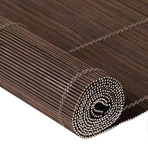 Jiayuan jaloezieën van natuurlijke bamboe, rolluiken Romana kan binnen of buiten staan, eenvoudig te installeren in 25 maten.