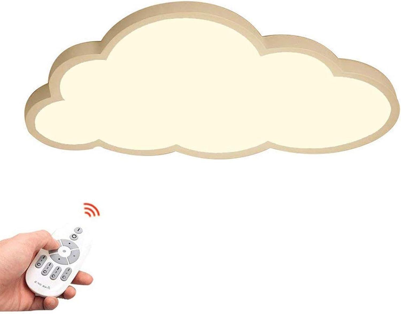 36W LED Cloud Deckenleuchte, 5cm ultradünne Schlafzimmerleuchte Kreative Cartoon Kinderzimmerleuchte Kinderzimmerleuchte (Farbe   Stufenloses Dimmen)