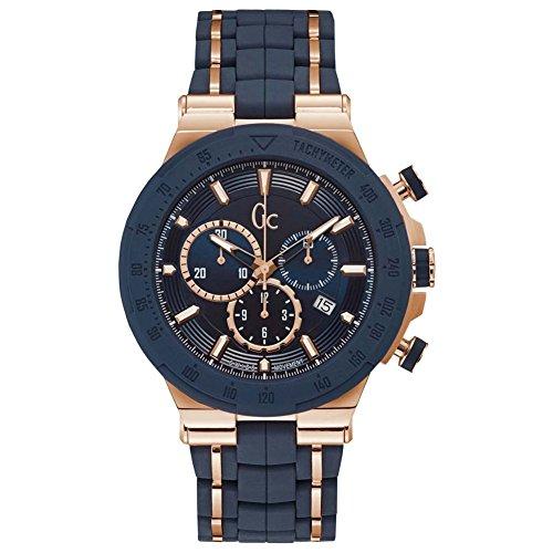 GC Uhr Analog mit Silikon Armband Y35002G7