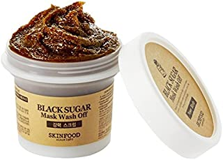 Skinfood Black Sugar Mask Wash Off Exfoliator, 3.53 Ounce