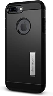 Spigen Tough Armor Designed for Apple iPhone 7 Plus Case (2016) / Designed for iPhone 8 Plus Case (2017) - Black