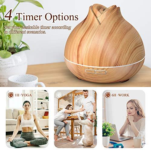 ASAKUKI-400ml-Premium-Petal-Shape-Essential-Oil-Diffuser-for-Home-Bedroom-Babyroom