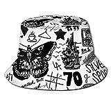 1d Tattoos Updated (2015) Men Women Bucket Hat Fisherman Summer Sun Cap Travel Beach