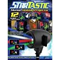 StarTastic Holiday Laser Projector with 12 Holiday Slides