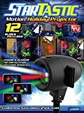 Startastic Holiday Laser Lights Christmas Projector Movie Slide 12 Modes, As Seen on TV!