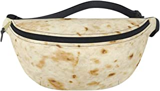 CapsA Hiking Waist Packs Fanny Packs Waist Bag for Women Girls Kids Food Creation Burrito Baby Adult Tortilla Blanket Fanny Pack Novelty Fashion Dad Waist Bag