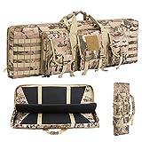 Warriors Product 38 42 Inch Double Long Rifle Gun Case Bag Outdoor...