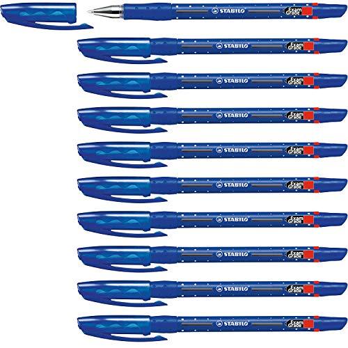 Kugelschreiber - STABILO Exam Grade - 10er Pack - blau