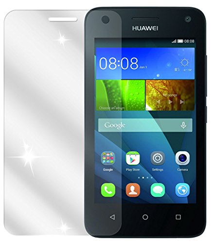 dipos I 2X Schutzfolie klar kompatibel mit Huawei Y3 Folie Displayschutzfolie