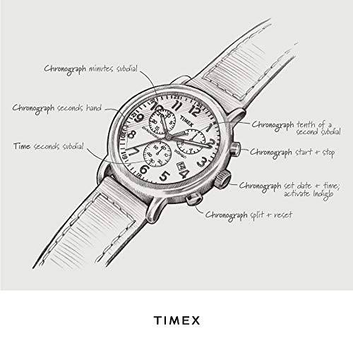Timex Expedition Chrono Brown TW4B04300