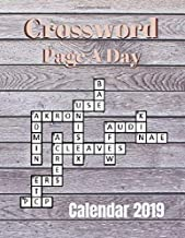 Crossword Page A Day Calendar 2019: Books Of Crossword Puzzles - Crosswords Fun! Themed Word Searches, Puzzles to Sharpen Your Mind Themed Word Search Series