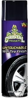 Cristal Products CRI-107-C Tire Shine Untouchable Tire Premuim Dressing Aerosol Gloss Spray for Car Tires, 14 fl. oz.