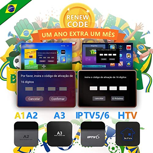 Why Should You Buy IPTV Brazil Brasil TV Box Renew Code, Activation Code for A1/A2/A3/ HTV/IPTV 5 6 ...