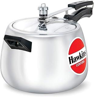 Hawkins Contura Pressure Cooker, 6-1/2-Litre New Shape
