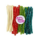 7. Smarty Stop All Color Licorice Twist Candy (Assorted, 2 LB)