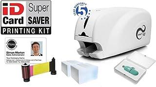 Braun 100 Plastikkarten in Premium Qualit/ät W/ählen Sie aus /über 30 unterschiedlichen Farben Geeignet f/ür alle Plastikkartendrucker