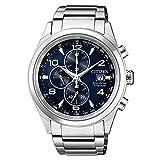 Orologio Citizen Supertitanio - Crono CA0650-82L Solare Titanio Quandrante Blu Cinturino Titanio