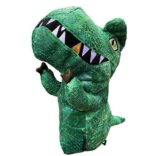 dinofactory T-Rex Golf Head Cover Driver Headcover (Green)