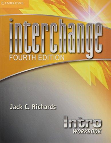 Interchange Intro Workbook