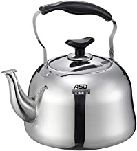MSWL Kettle, Stainless Steel Kettle, Coffee Maker, Teapot, Teapot With Filter, Best Gift Kettle (Capacity : 5L)