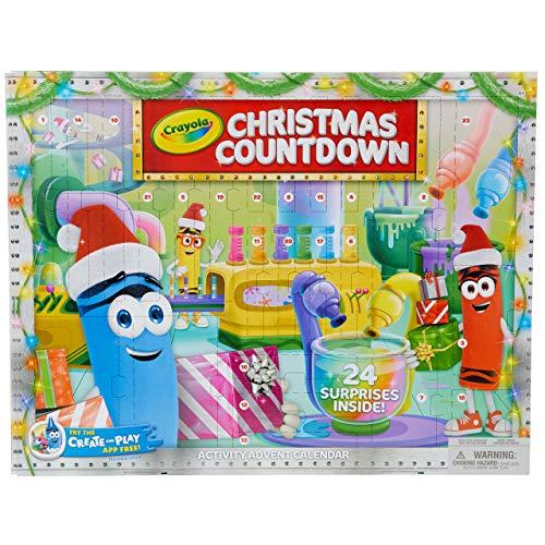 Crayola Christmas Countdown Advent Calendar, Multi-Colour