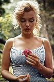 Bruce Teleky Marilyn Monroe Flower Poster 24 x 36in