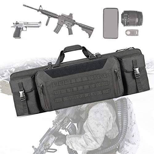 EnweLampi Tragbarer Gewehr Weichkoffer, wasserdichte Jagd-Rucksack, für Haus, Auto, Camping, Wandern, Sport, Arbeit, Überleben und Reisen
