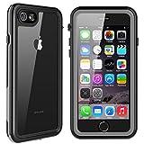 Singdo iPhone 7 Waterproof Case, iPhone 8 Waterproof Case, Shockproof Cover Built in Screen Protector Full Body Dustproof Underwater Case for iPhone 7/8 (4.7inch)