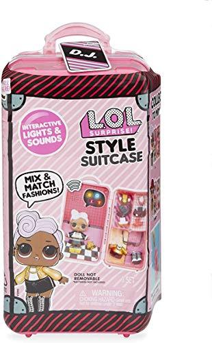 L.O.L Surprise! 560432 L.O.L Style Maleta D.J. Interactive Surprise, Multi