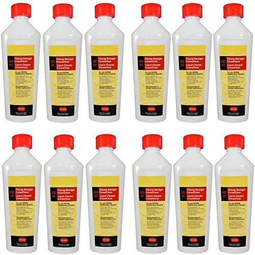 12er Pack Nivona Flüssig-Reiniger / MILCHREINIGER / NIRK 705 - 390700500 - 500 ml
