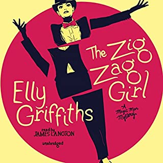 The Zig Zag Girl audiobook cover art