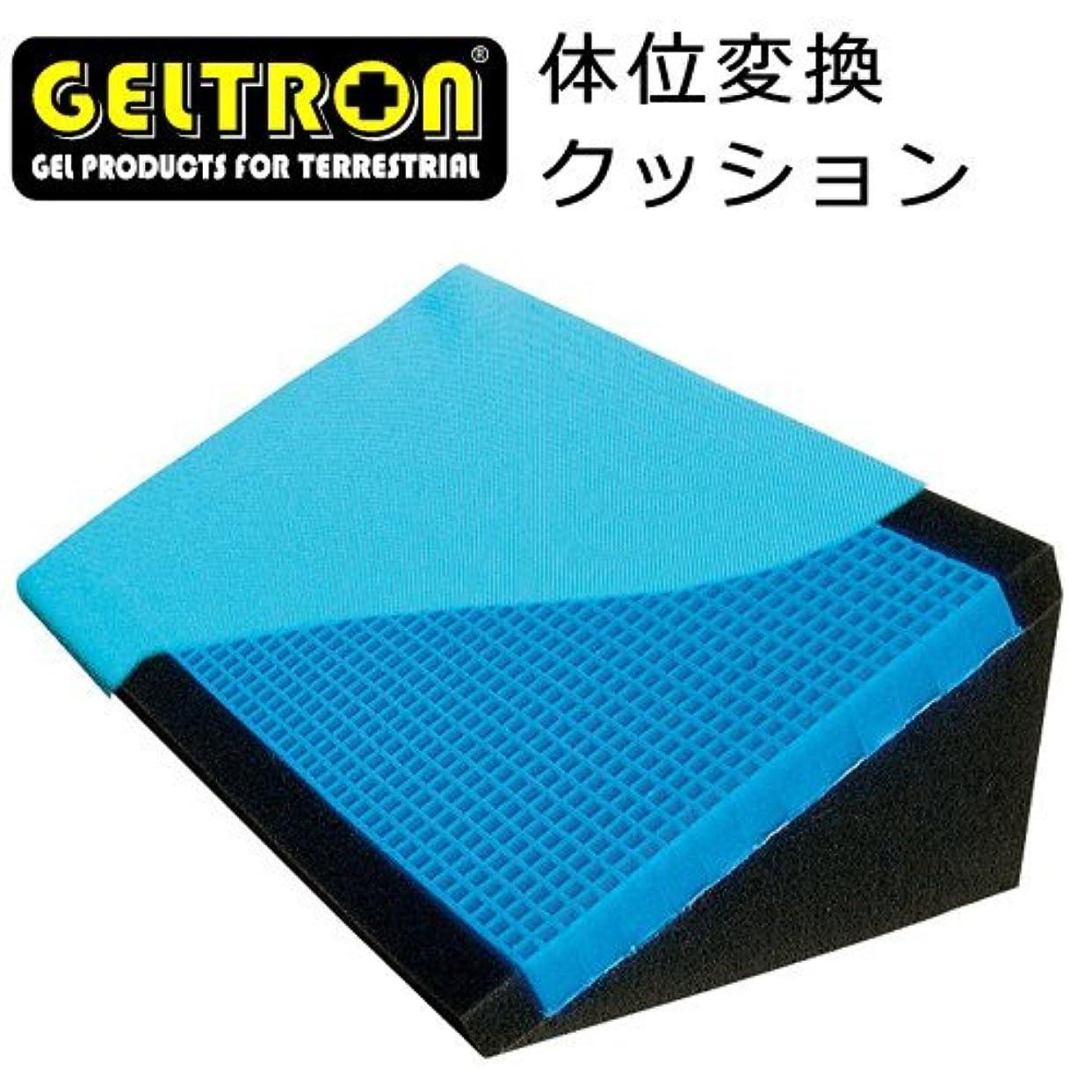 ヒロイン敬礼要求するジェルトロン 体位変換クッション 幅35×奥行21×高さ12cm 30度保持形状(TAISコード) 防水?清拭カバー