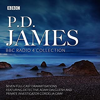 P. D. James BBC Radio Drama Collection     Seven Full-Cast Dramatisations              By:                                                                                                                                 P. D. James                               Narrated by:                                                                                                                                 Greta Scacchi,                                                                                        Hugh Grant,                                                                                        full cast,                   and others                 Length: 16 hrs and 37 mins     147 ratings     Overall 4.3