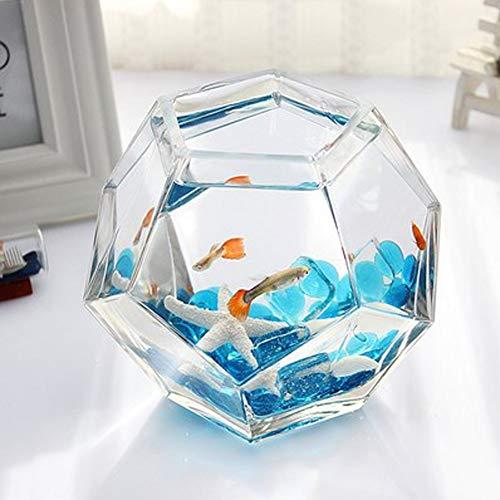 LSHUAIDJ Vis tank aquarium/goudvis kom vis tank/kleine mini desktop creatieve vis tank/acryl plexiglas vis tank