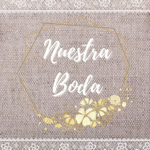 Libro de firmas bodas: Libro de invitados personalizado y moderno para dejar recuerdos y huellas a los novios en su boda - Idea de regalo o detalle de boda original. Portada rosa. Español