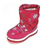 Magnus Kinder Schuhe Winterschuhe(134D) Winterstiefel Stiefel Jungen,Mädchen Schuhe Pink, Größe 26