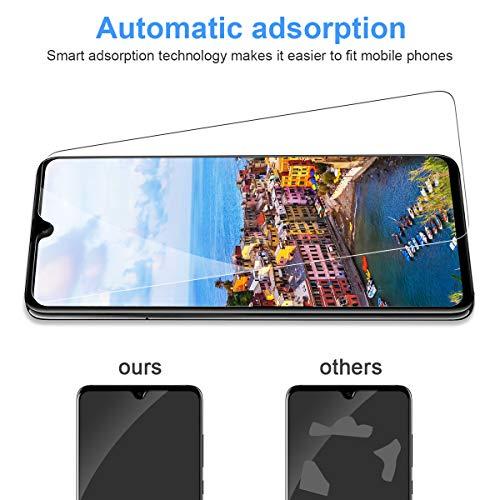 CRXOOX [3 Stück] Panzerglas Schutzfolie für Huawei Mate 20, [Anti-Kratzer/Anti-Öl] [Einfache Installation] [Blasenfrei] [3D Touch Kompatibel/9H Härte] - für Huawei Mate 20 - Transparent - 6