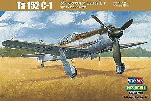 Venta en línea de descuento de fábrica Hobbyboss 1 48 Scale Focke Wulf Ta 152 C-1 Assembly Assembly Assembly Kit by Hobbyboss  descuentos y mas