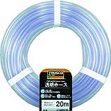 TRUSCO(トラスコ) 透明ホース15×18 10mカット TTM1518C10